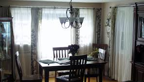 awesome dining room curtain decorating ideas light of dining room