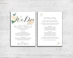 flat wedding programs bold blue feathers design flat wedding program marriage ceremony