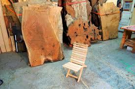 Stump Chair Rump Stump Ballyhoo Offerman Woodshop