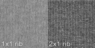 3 types of knit fabric printwear