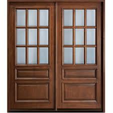 Main Door Designs For Home Wooden Glass Double Door Hpd477 Glass Panel Doors Al Habib