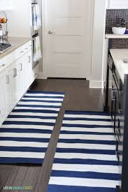 Striped Kitchen Rug Runner Striped Kitchen Rug Best Dining Room Black Area Rugs Cow Kitchen