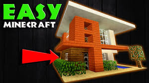 minecraft how to build a realistic modern house small modern
