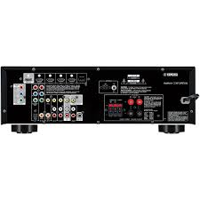 home theater with spdif input yamaha rx v377 5 1 home theater receiver 100 watts per channel