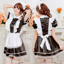 Size Gothic Halloween Costumes Aliexpress Buy French Maid Costume Sweet Gothic