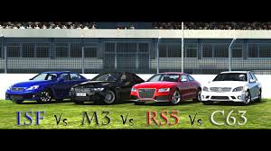 lexus vs bmw i3 forza motorsport 4 battle s1 e12 lexus isf vs bmw m3 vs audi
