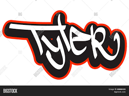 Name Style Design by Tyler Graffiti Font Style Name Hip Hop Design Template For T
