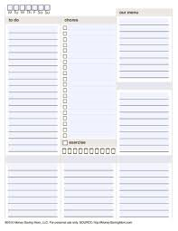printable homeschool daily planner 10 free printable daily planners contented at home