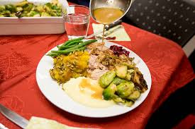 thanksgiving day dinner pictures getty images
