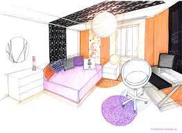 dessiner une chambre en perspective chambre perspective idées de décoration capreol us