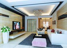 modern pop false ceiling designs for small living room with red