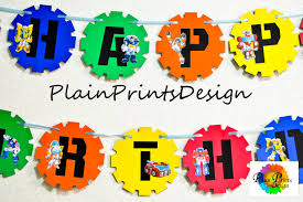 printable transformers birthday banner transformers rescue bots birthday banner rescue bots birthday