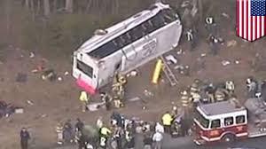 Indiana Travel Tech images Strange bus crash bus drives erratically rolls over crashes jpg