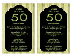 3 stunning 50th birthday party invitations ideas eysachsephoto com
