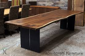 Dining Table Store Live Edge Chicago Area Walnut Slab Dining Tables By Spiritcraft