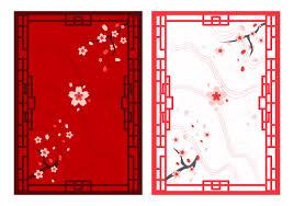 free beautiful japanese ornaments free vector