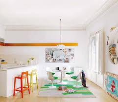 colorful kitchen ideas kitchen contemporary small kitchen design with white floating