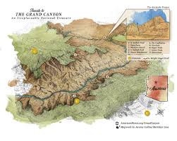 Map Grand Canyon And Arteries Of Our Communities They Give Us Clean Drinking