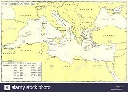 Mediterranean Sea World Map by Europe The Mediterranean Sea Distances By Sea From Alexandria