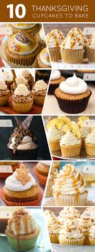 10 thanksgiving cupcakes