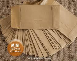 blank seed packets 100 kraft wedding favor envelopes mini envelopes seed packet