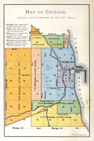 Chicago City Map by History Of Chicago Wikipedia