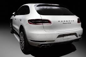 porsche macan turbo white porsche macan wide body kit already being developed by topcar