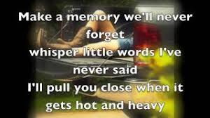 Bed Of My Chevy Lyrics Bed Of My Chevy Justin Moore With Lyrics Youtube
