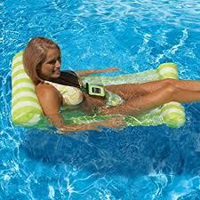 amazon pool floats amazon com topist floating hammock premium inflatable swimming
