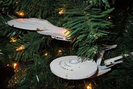 8 geeky ornaments for your tree