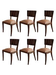 Art Deco Dining Room Chairs by Art Deco Rosewood Dining Chairs Set Of 6 U2013 The Edit