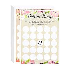 bridal shower gift bingo bridal shower to be gift bingo pink rustic