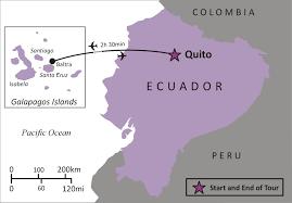 Galapagos Map Sights And Soul Travels Ecuador The Wonders Of The Galapagos