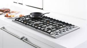 36 Inch Cooktop With Downdraft Viking Vgsu5366bss 36 Inch Gas Cooktop With Continuous Grates