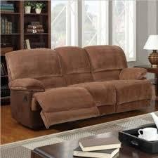 Brown Recliner Sofa Leather Recliner Sofa Sets Sale Foter