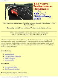 the volvo preformance handbook suspension vehicle