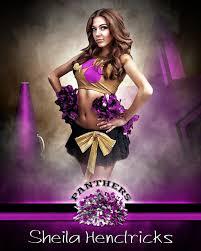 sports poster photo template fantasy cheerleading photoshop