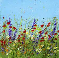 top 25 best acrylic painting flowers ideas on pinterest