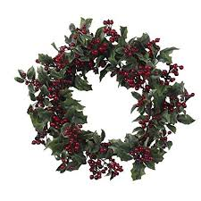 berry wreath 24 artificial christmas berry wreath garden