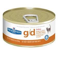 hill u0027s prescription diet cat g d canned food cat heart u0026 blood