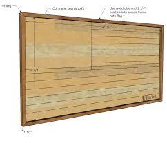 diy patriotic wood flag tool belt