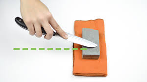 How To Dispose Of Kitchen Knives How To Sharpen A Knife With A Stone 14 Steps With Pictures