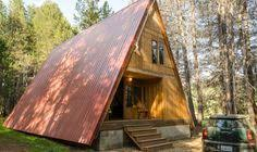 small a frame cabin forgetmenot lodge triangle shaped cabin a frame tiny house houses
