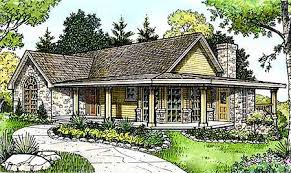 country cabin floor plans plan 46005hc hill country cottage square ranch and porch
