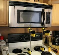 under cabinet microwave height how to install under cabinet microwave under the cabinet microwaves