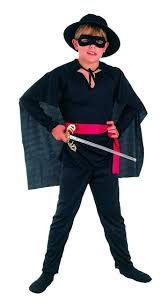 boys book character zorro dress up costume all ages ut12 ebay