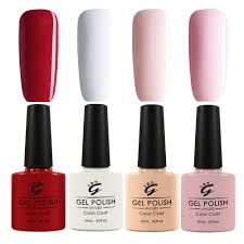 popular gel nails set french manicure buy cheap gel nails set