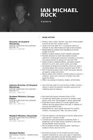 Pastors Resume Sample by Student Resume Samples Visualcv Resume Samples Database