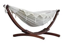 vivere hammocks cotton hammock with stand u0026 reviews wayfair