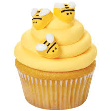 honey bee decorations for your home amazon com wilton w7102916 icing decorations bumblebee 18 pack